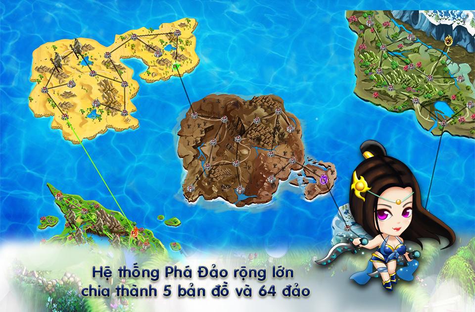 VTC Game tiết lộ nhiều thông tin mới về Phá Đảo 1