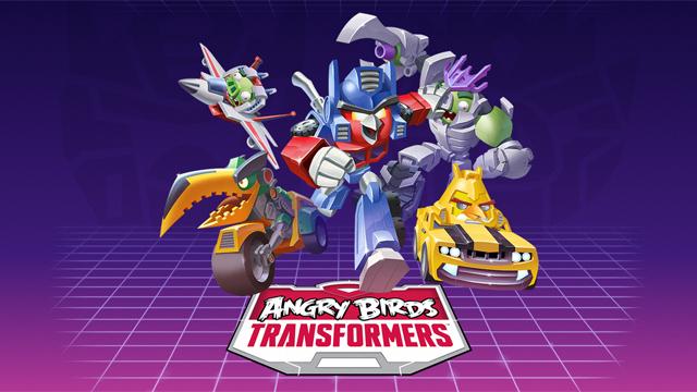 Rovio hé lộ game mới Angry Birds Transformers 1