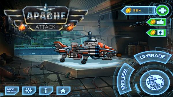 Divmob trình làng game mới Apache Attack 1