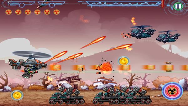 Divmob trình làng game mới Apache Attack 6