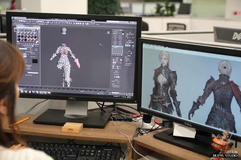 Neowiz Games tiết lộ hậu trường thiết kế Bless Online 4