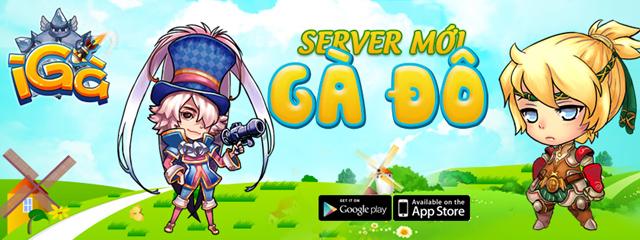 GameLand Mobile tặng giftcode Gà Đô game iGà 2