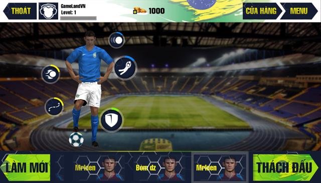 Amazing Kick: World Cup 2014 có mặt trên AppVN 5