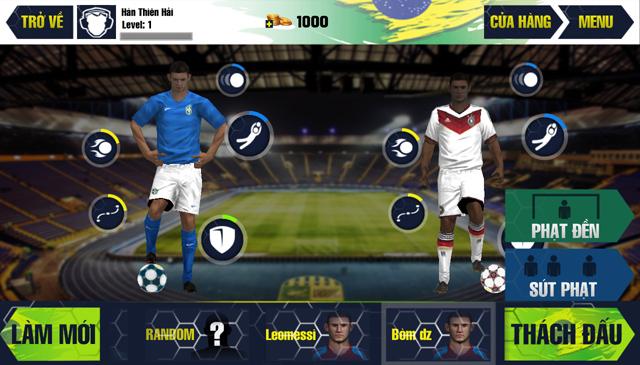 Amazing Kick: World Cup 2014 có mặt trên AppVN 6