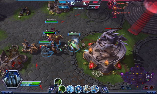 Blizzard mở giới hạn thử nghiệm Heroes of the Storm 2
