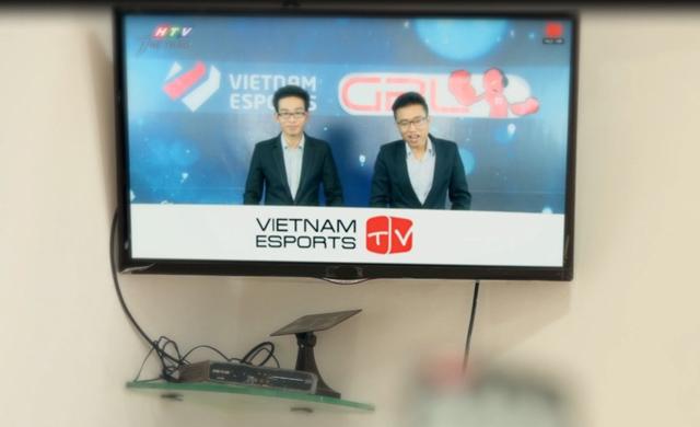 Thể thao điện tử có mặt trên HTV Thể thao từ 21/06 1
