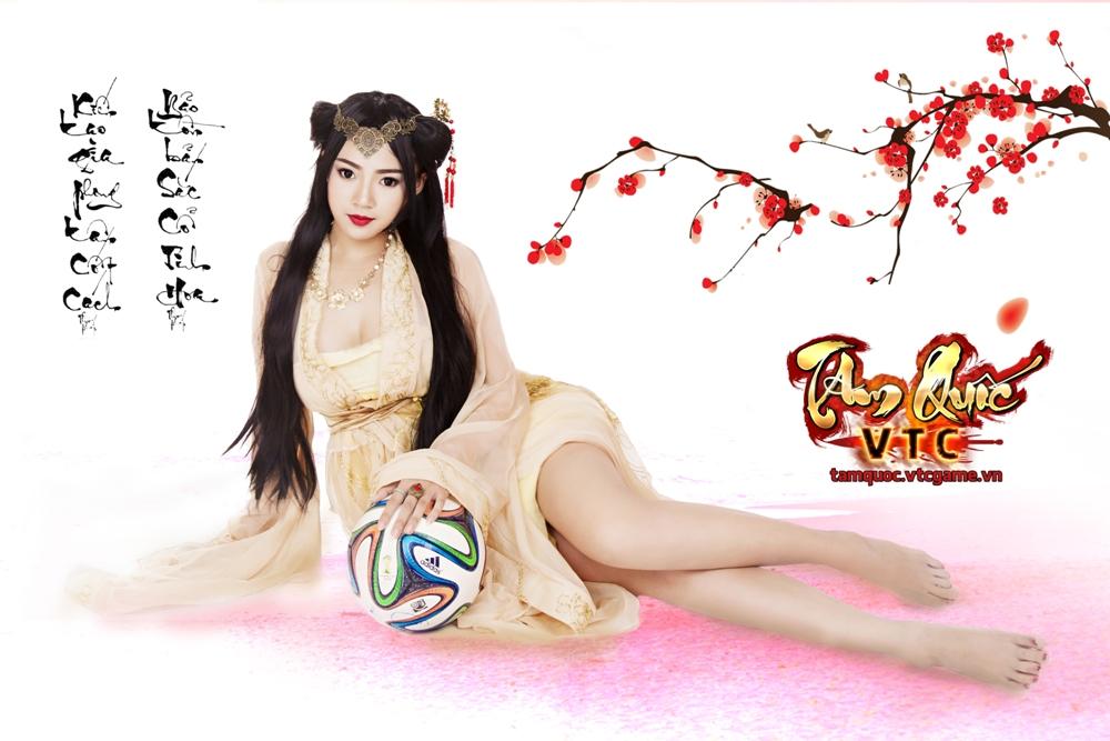 Điêu Thuyền nghịch bóng đón World Cup 2014 - Ảnh 3
