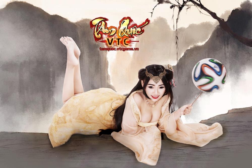 Điêu Thuyền nghịch bóng đón World Cup 2014 - Ảnh 6
