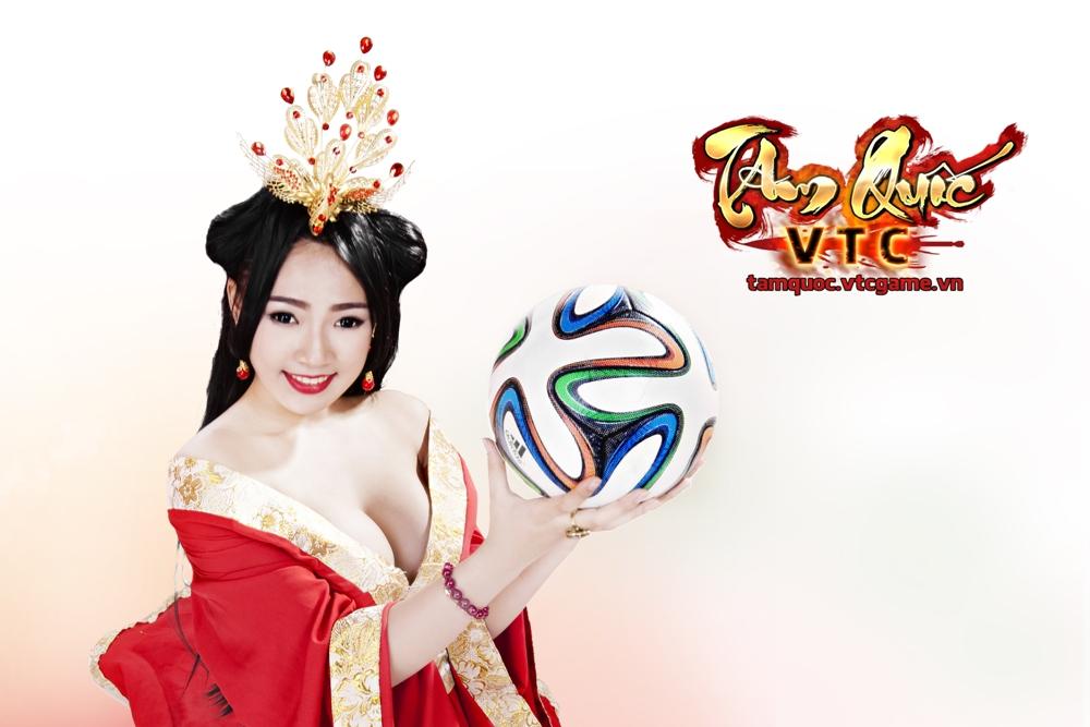 Điêu Thuyền nghịch bóng đón World Cup 2014 - Ảnh 9