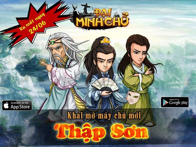 Tặng giftcode Thái Cực game Đại Minh Chủ 2