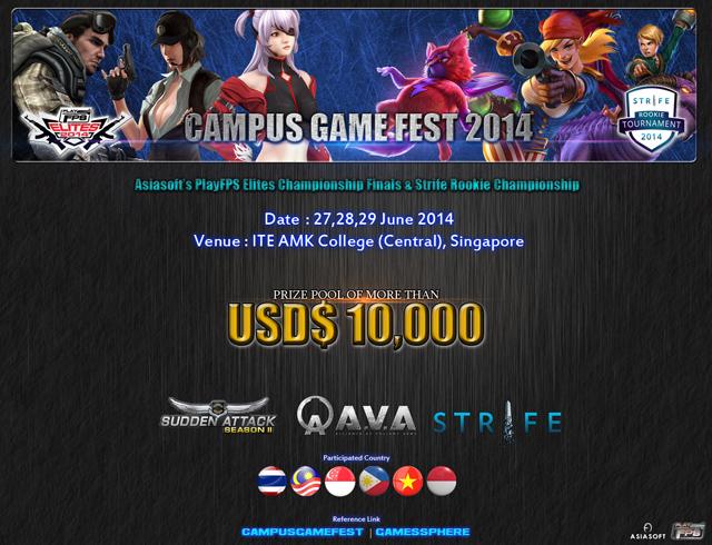 Việt Nam có đại diện tham gia PlayFPS Elites 2014 2