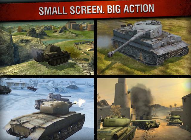 World of Tanks Blitz có mặt trên App Store toàn cầu 3