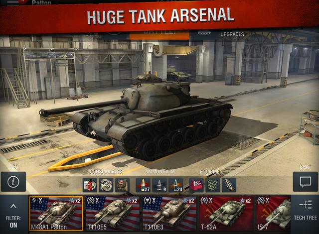 World of Tanks Blitz có mặt trên App Store toàn cầu 5