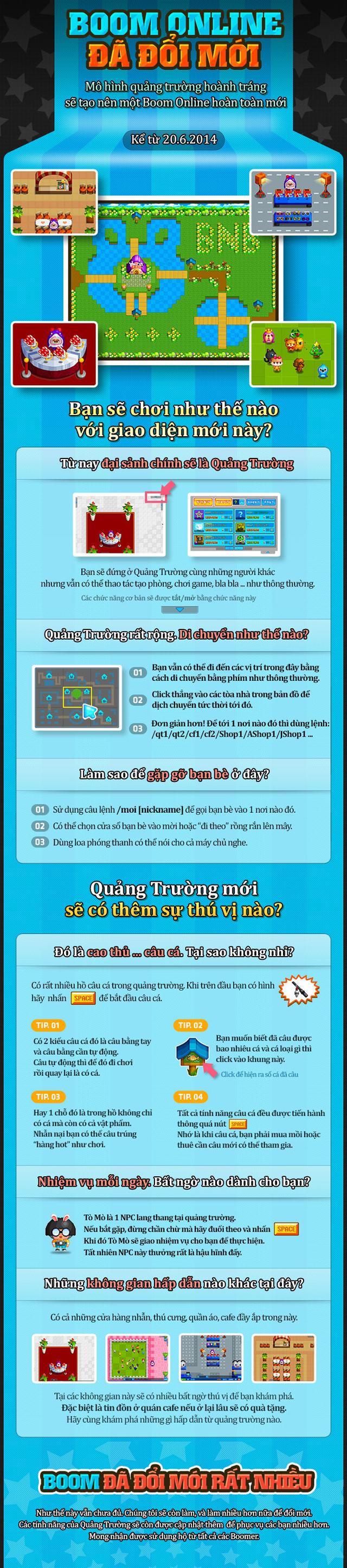 Boom Online trình làng quảng trường mới 1