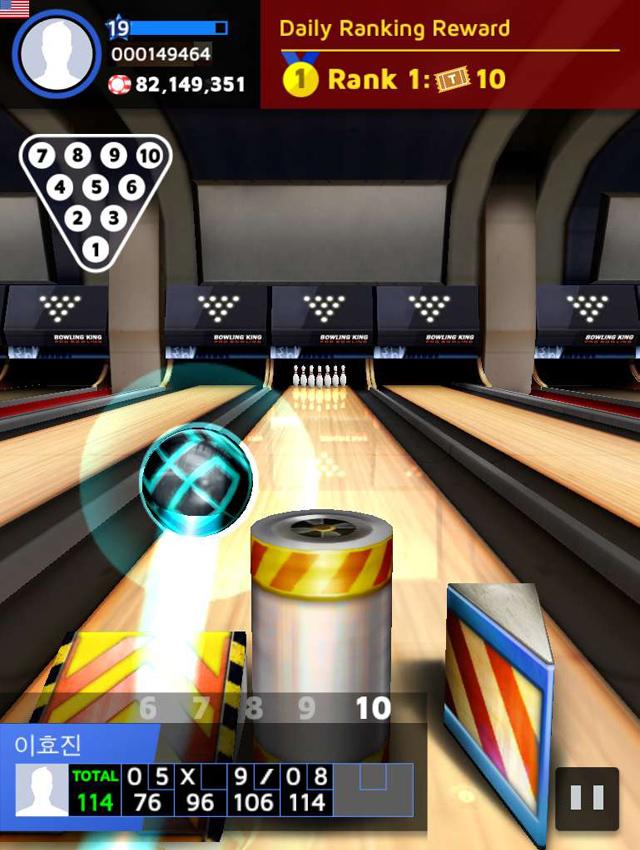 PNIX Games trình làng game mới Bowling King 5
