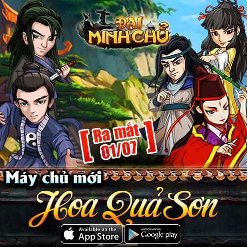 Tặng giftcode Âm Dương game Đại Minh Chủ 2