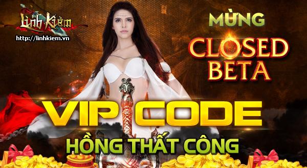 Tặng giftcode Hồng Thất Công game Linh Kiếm 1