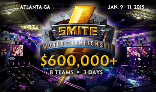 Hi-rez Studios công bố SMITE World Championship 2
