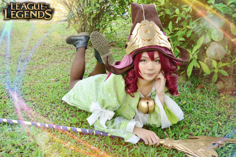 Cosplay Lulu Luyện Rồng - Ảnh 2