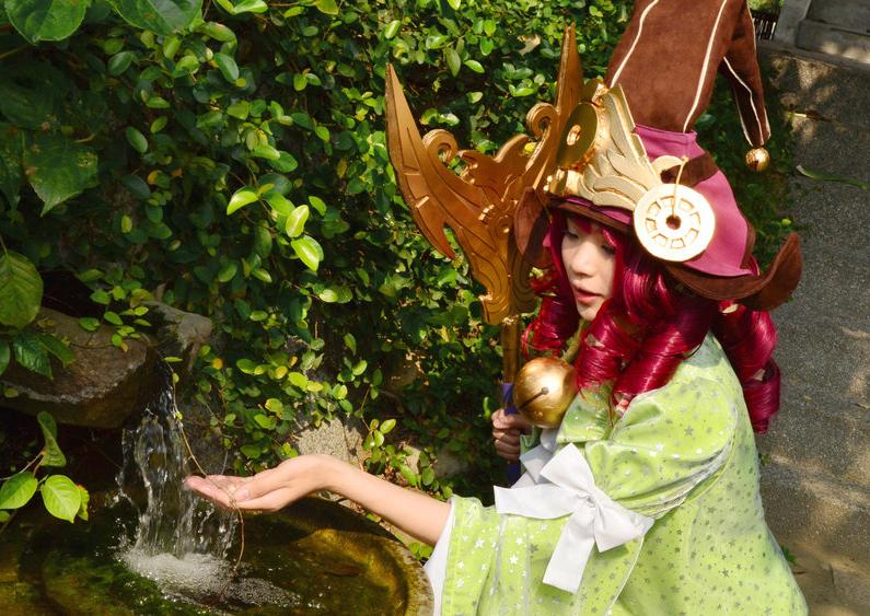 Cosplay Lulu Luyện Rồng - Ảnh 3