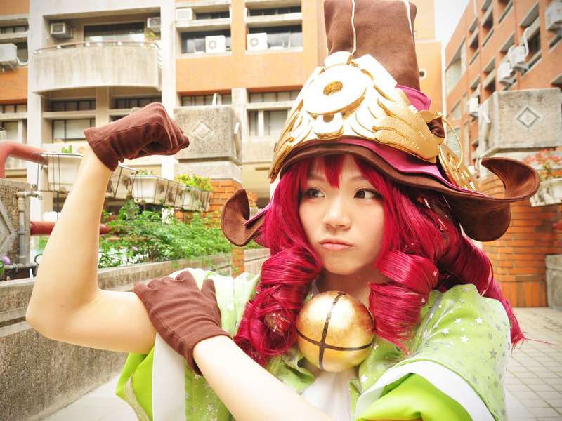 Cosplay Lulu Luyện Rồng
