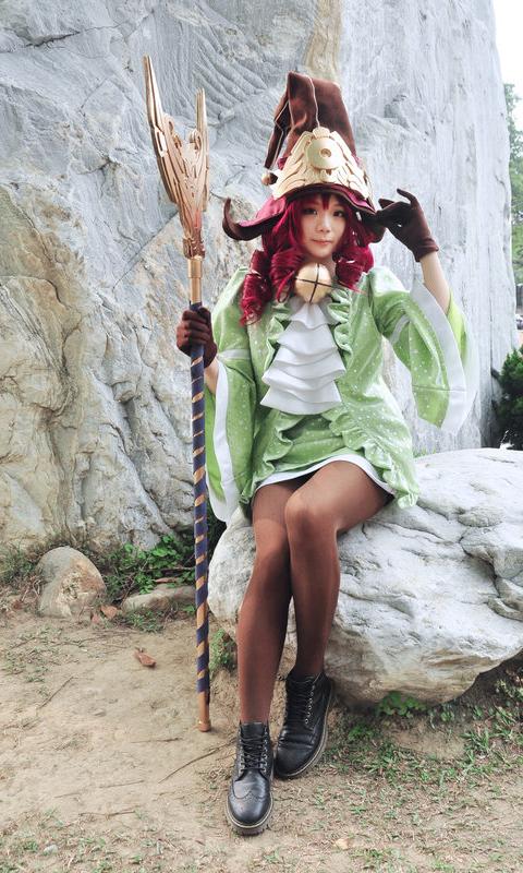 Cosplay Lulu Luyện Rồng - Ảnh 6