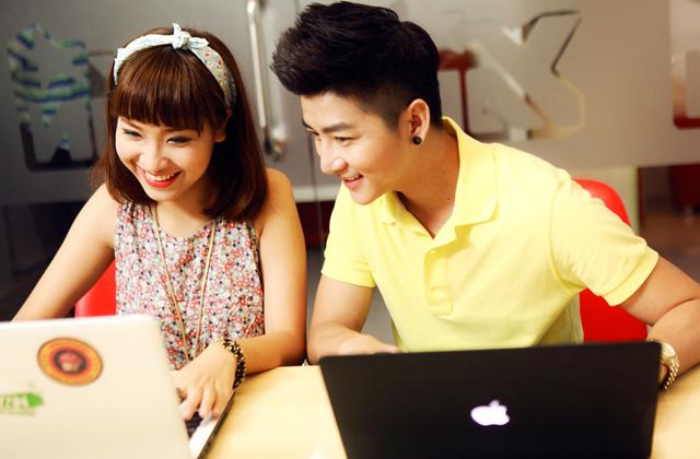 Dàn sao YAN hứng khởi với Touch Online 2
