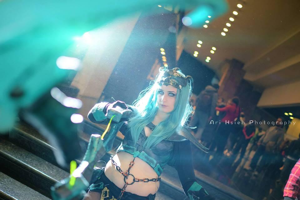 Ngắm cosplay Thresh phiên bản nữ cực ma mị - Ảnh 6