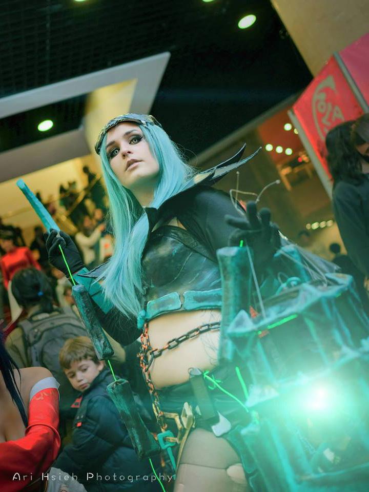 Ngắm cosplay Thresh phiên bản nữ cực ma mị - Ảnh 9