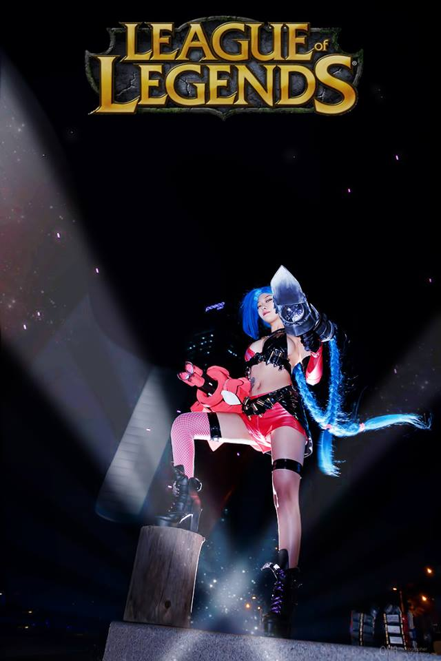 Ngắm cosplay Vi và Jinx cực quyến rũ - Ảnh 10