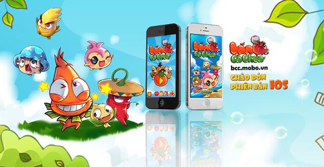 ME Corp trình làng Bắn Cà Chua phiên bản iOS 2