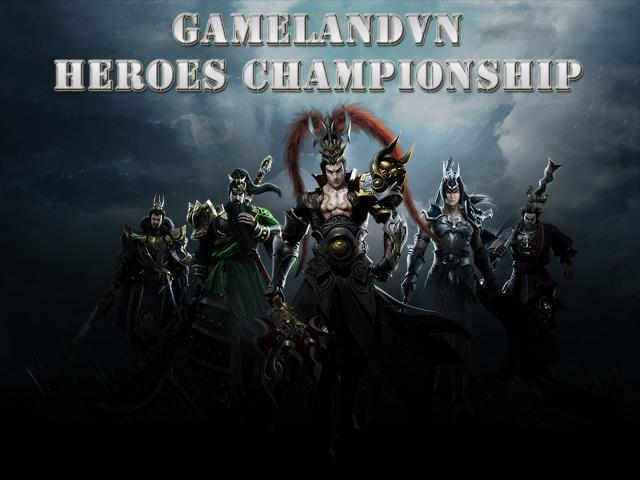 GameLandVN Heroes Championship khởi động 1