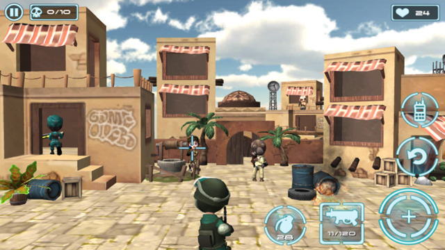 Splay Games trình làng game mới Modern World War 3