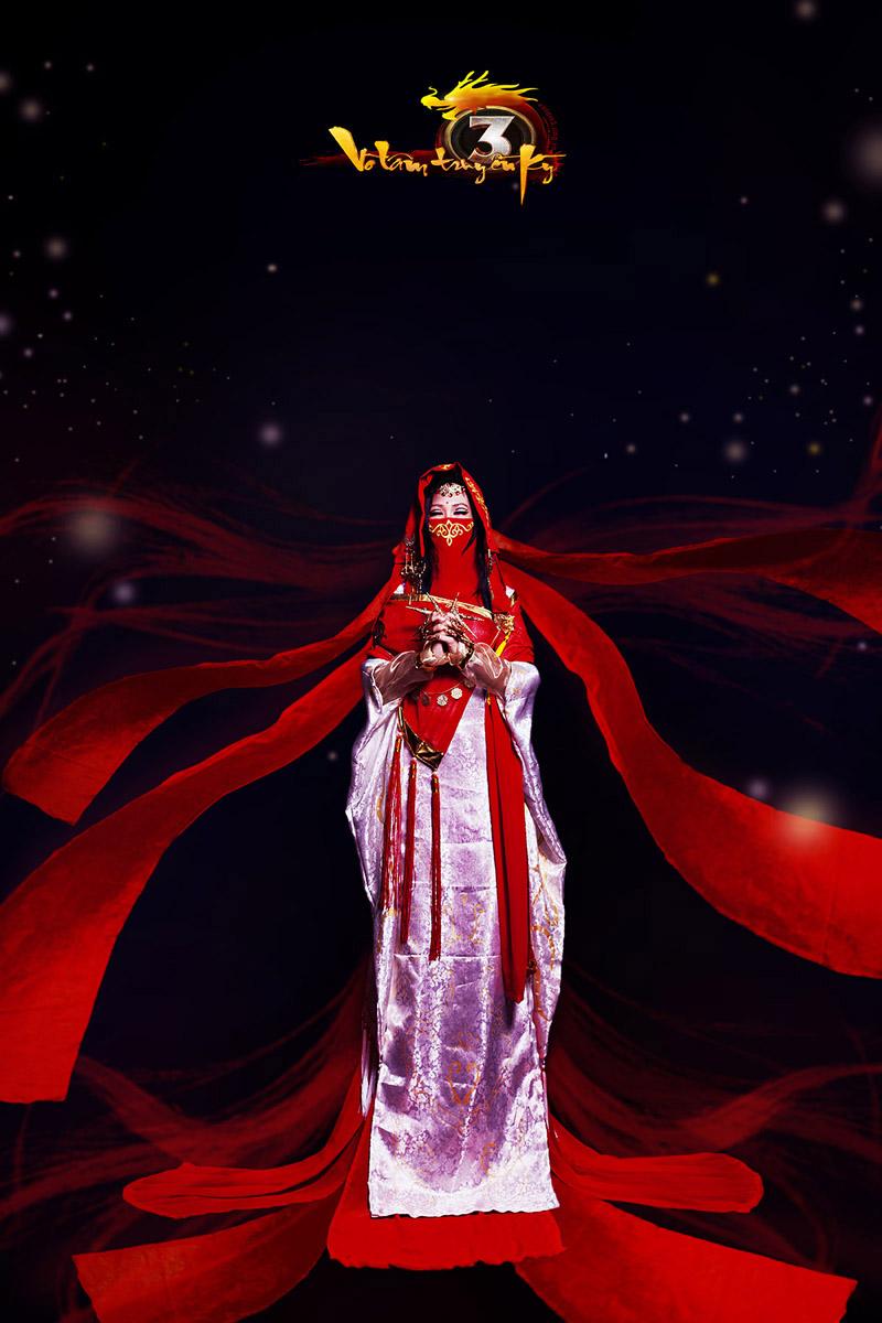Cosplayer Việt hóa thân thành thánh nữ Lục Yên Nhi - Ảnh 3