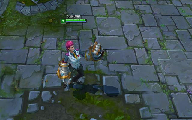 LMHT: Vi và Ezreal có trang phục mới 13