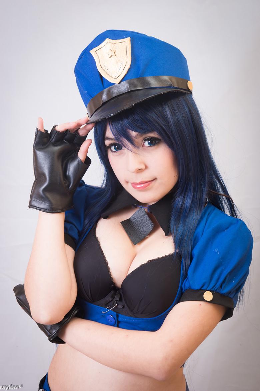Asami Kyu cực quyến rũ với cosplay Caitlyn