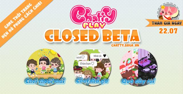 Chatty Play mở cửa thử nghiệm phiên bản Android 1