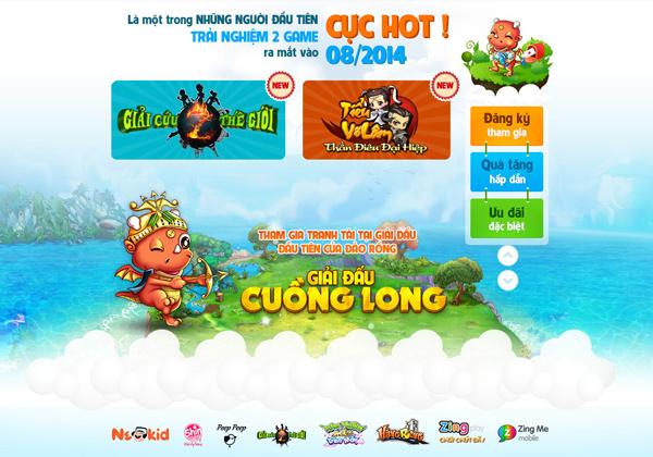 VNG tổ chức thi đấu Đảo Rồng mừng sinh nhật Zing Me 2