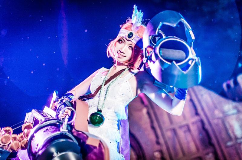Ngắm cosplay Jinx Mafia của nhóm CSL - Ảnh 5