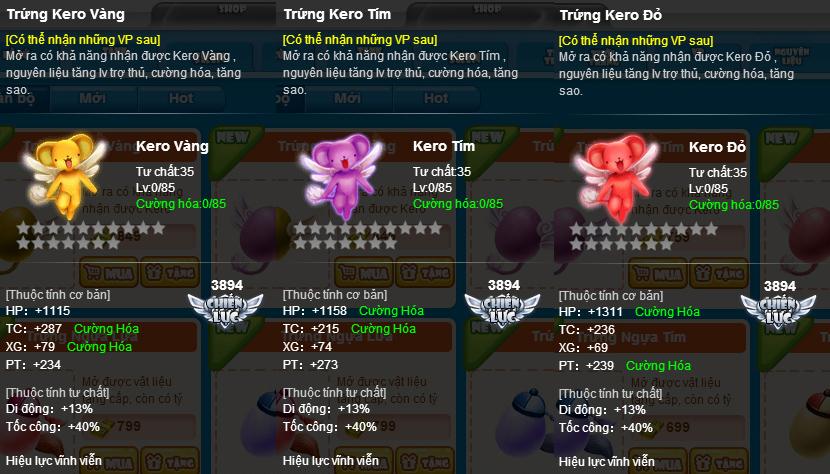 Gấu Kero trở thành thú cưng trong BangBang Online 3