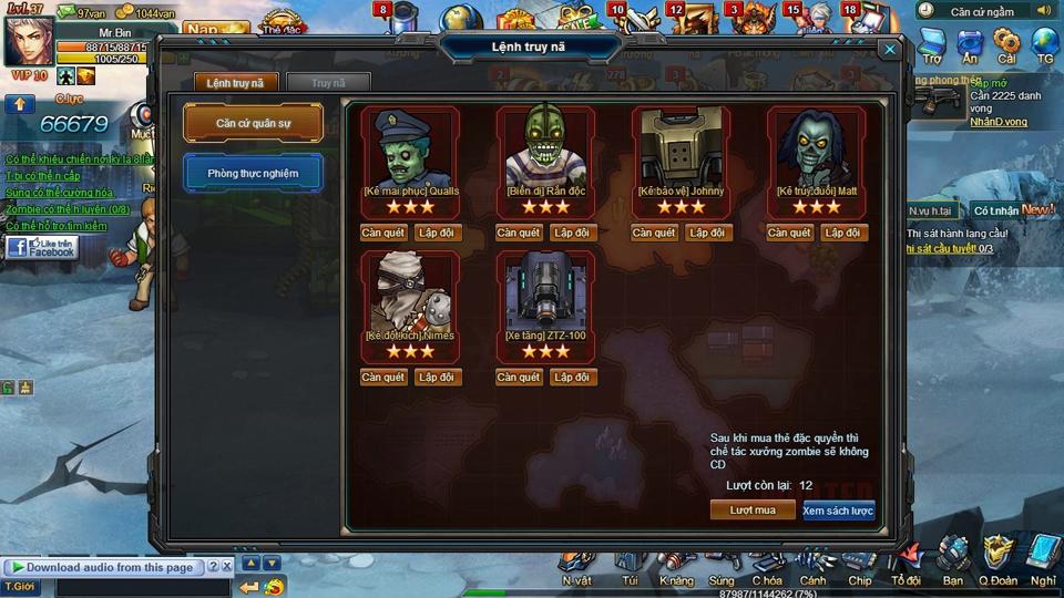 Soha Game hé lộ game mới CS Zombie 6