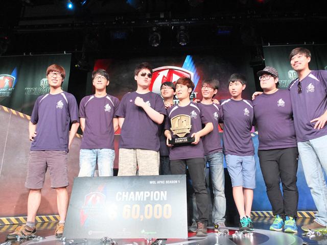 WOT: ARETE vô địch WGL APAC mùa 1 1
