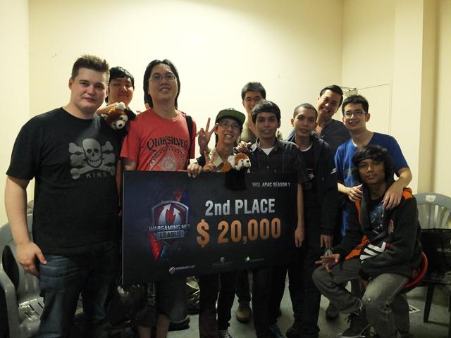 WOT: ARETE vô địch WGL APAC mùa 1 2
