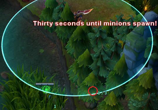 LMHT: Gợi ý một số vị trí cắm mắt qua tường hiệu quả 1