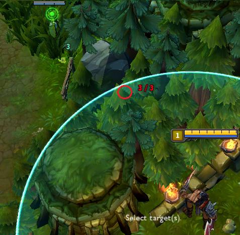 LMHT: Gợi ý một số vị trí cắm mắt qua tường hiệu quả 2