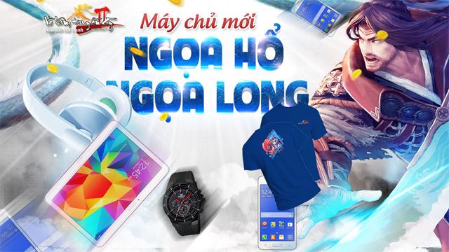 Võ Lâm Truyền Kỳ II ra mắt máy chủ mới Ngọa Long 2