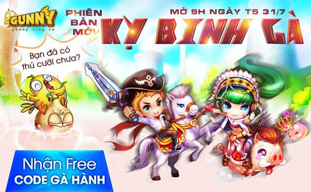 Gunny Online: VNG hé lộ về phiên bản mới Kỵ Binh Gà 1