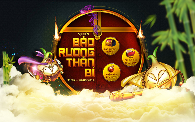 9K Truyền Kỳ ra mắt sự kiện Bảo Rương Thần Bí 2