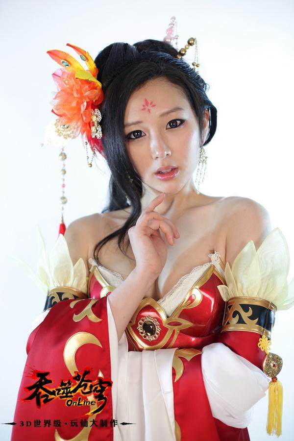 Ngắm cosplay Thôn Phệ Thương Khung cực quyến rũ
