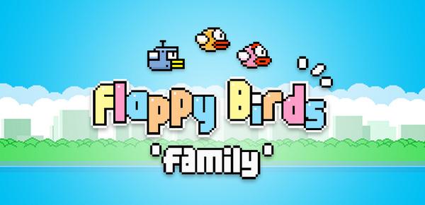 """Flappy Birds """"hồi sinh"""" với tên mới Flappy Birds Family 1"""